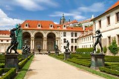 Waldstein palace garden royalty free stock photos