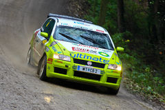 Waldviertel Rallye 2008 Stock Photography