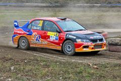 Waldviertel Rallye 2009 Royalty Free Stock Photos