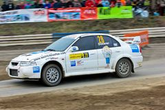 Waldviertel Rallye 2009 Royalty Free Stock Photography