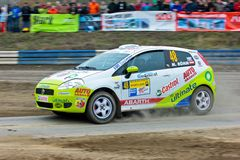 Waldviertel Rallye 2009 Royalty Free Stock Photo