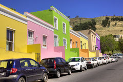 Wale街道, Bo Kaap 免版税图库摄影