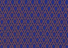 Wale colorido, textura do teste padrão de Tailândia da tela imagens de stock