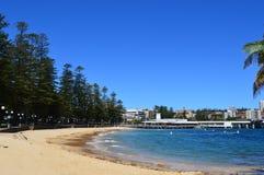 Waleczna zatoczki plaża Australia Zdjęcia Royalty Free