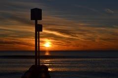 Waleczny Wschód słońca Zdjęcia Royalty Free