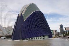 Walencja Ciudad De Las Artes y lasy Ciencias - agora Zdjęcie Royalty Free