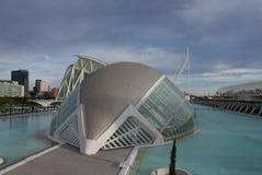 Walencja Ciudad De Las Artes y lasy Ciencias, Hemisferic - Obrazy Royalty Free