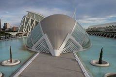 Walencja Ciudad De Las Artes y lasy Ciencias, Hemisferic - Fotografia Royalty Free
