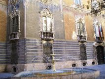 Walencja fontanna obrazy royalty free