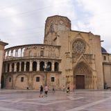 Walencja, Hiszpania katedra Zdjęcia Stock