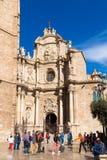 WALENCJA HISZPANIA, Listopad, - 15, 2017: Wycieczka turysyczna Segway w Walencja Hiszpania obrazy stock