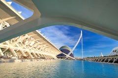 Walencja Hiszpania miasto sztuki i nauki Obraz Royalty Free