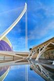 Walencja Hiszpania miasto sztuki i nauki Obrazy Stock