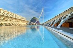 Walencja Hiszpania miasto sztuki i nauki Zdjęcia Stock