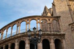 Walencja katedra dedykująca maryja dziewica Fotografia Stock