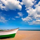 Walencja Malvarrosa Patacona plaży morze śródziemnomorskie obrazy stock