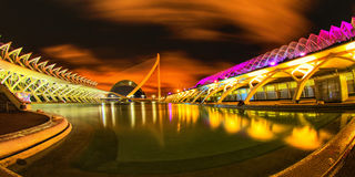 Walencja, miasto nauka i sztuka, Hiszpania Zdjęcia Stock