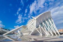 Walencja - miasto sztuki i nauki Zdjęcie Stock
