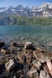 walensee湖瑞士 库存照片