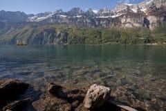 walensee湖瑞士 免版税图库摄影