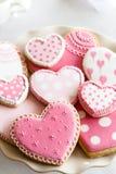 Walentynek ciastka obraz stock