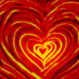 Walentynek serc miłości tematu wzór Obraz Stock