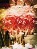 Walentynek serca Zdjęcia Stock