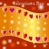 Walentynek tła. Fotografia Stock