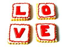 Walentynka dnia ciastka Obrazy Stock