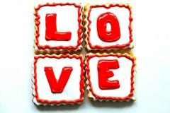 Walentynka dnia ciastka Obraz Stock