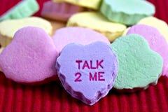 Walentynka dnia cukierku serca zdjęcie stock