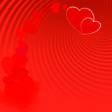 Walentynka dnia czerwień background-08 ilustracja wektor