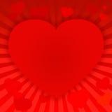 Walentynka dnia czerwień background-09 royalty ilustracja
