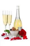 Walentynka dnia dekoracja zdjęcia stock