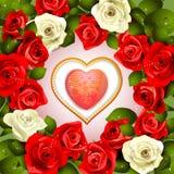 Walentynka dnia karta ilustracji