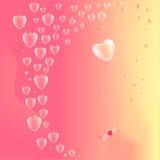 Walentynka dnia karta Zdjęcie Royalty Free