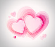 Walentynka dnia karta Zdjęcia Stock