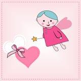 Walentynka dnia karta, Zdjęcia Stock