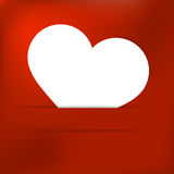 Walentynka dnia karta. + EPS8 Zdjęcia Stock