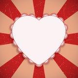 Walentynka dnia kartka z pozdrowieniami ilustracja wektor