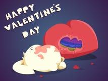 Walentynka dnia królik Zdjęcia Royalty Free