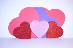 Walentynka dnia miłości serca Fotografia Stock