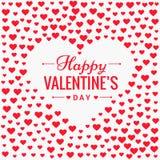 Walentynka dnia miłości tła wektorowy projekt Fotografia Stock