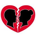 Walentynka dnia pocztówka Zdjęcia Stock