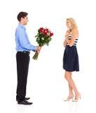 Walentynka dnia prezent obraz stock