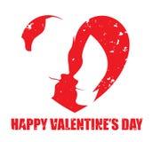 Walentynka dnia projekt Zdjęcia Stock