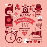Walentynka dnia projekt royalty ilustracja
