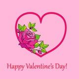 Walentynka dnia przyjęcia kartka z pozdrowieniami lub ulotka szablon Miłości zaproszenia projekt Piękny luksusowy wakacyjny tło z Ilustracji