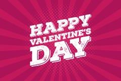 Walentynka dnia rocznika cyny znaka projekta pojęcie Retro plakat z miłość tematem Zdjęcie Royalty Free