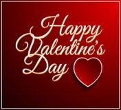 Walentynka dnia rocznika literowania tło Zdjęcie Stock